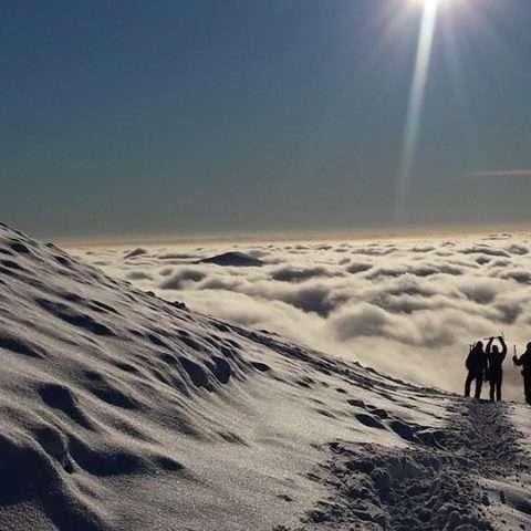 Snowdon winter skills