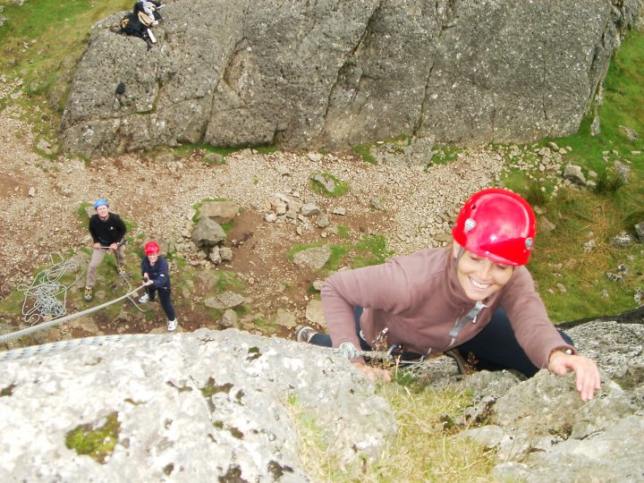 Climbing & Abseiling in Snowdonia