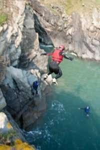 Coasteering North Wales Anglesey Snowdonia