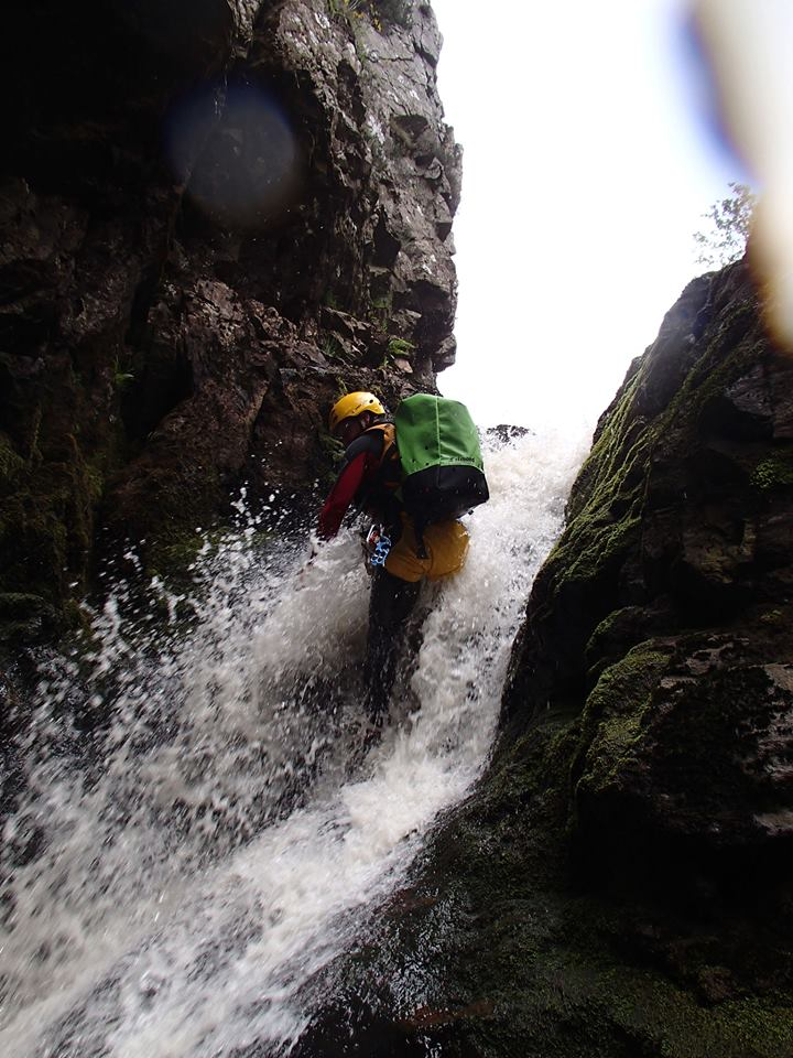 Extreme Canyoning in Snowdonia, North Wales